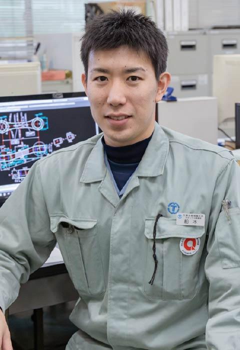 技術課所属 ●2007年入社